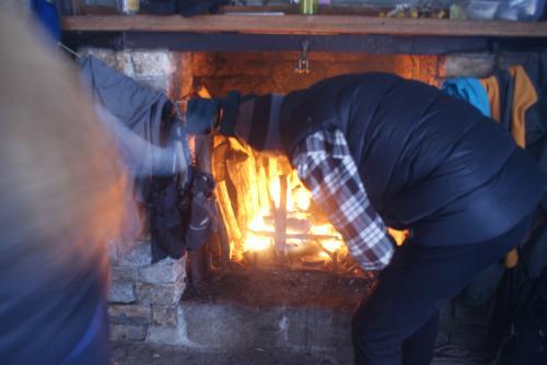 Fireplace, Mackeys Hut