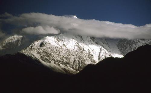 Panchachuli-2 (6,904 m), Kumaon region, in Pithoragarh district, Uttarakhand state, India.
