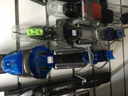 A variety of 75mm telemark/cross country ski touring bindings
